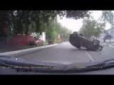 Stunning Car Accident Caught On Dash Cam