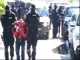 Serbian Police Arresting Albanian Terrorists