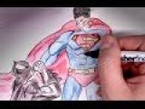 Superman Vs Batman? Drawing And Commentary