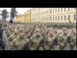 Soviet Style Early Grauation Ceremony For Ukraine Army Child Soldiers At Hetman Sagaydachnogo Academy 28 Feb 2015