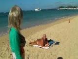 She Found Her Lovemate On A Hawaiian Beach?