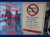 SR 1301 – Steps & Tips On How To BEAT Clintons' Voter Fraud Schemes In Your Area
