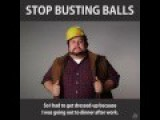 Stop Busting Balls PSA