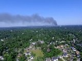 Smoke From New Jersey Warehouse Fire Can Be Seen For Miles