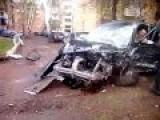 Seconds After A Horrible Crash