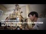 Stalwart Forbidden City Clock Restorer Helps Site Keep Time