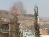 Saudi Airstrecks Hit Yemeni Houses