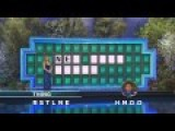 Solving A Hard Puzzle In One Guess 'Wheel Of Fortune'