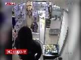 Sex Shop Employee Fights Robber But Fails