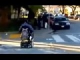 San Francisco Cop Shoves Man In Wheelchair Off Curb