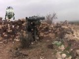 Syrian Sunni Arab Tank Hunters Get A Hit On Assad Regime BMP, With HJ-8 ATGM: Horan