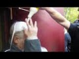 Svoboda Reps. Threaten And Physically Humiliate The Elderly Leader Of The Local Communist Party In Lvov | Eng Subs