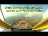 Single Engine Air Tanker SEAT Cockpit Video And Audio On Drop