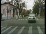 Speeding Car Narrowly Avoids Kid