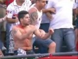 SAO-PAULO SOCCER FANS DON'T LIKE AUTHORITY!