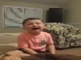 Son Cries Over Dad Kissing Mom