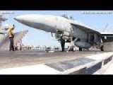 SUPERB F A-18 Prepare And EXPLOSIVE Launch From Catapult - CODE 1079