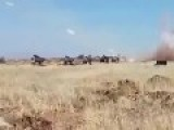 SAA 175th Artillery Regiment Raining Hell On Terrorists In Daraa