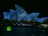 Spectacular 'Collapse' Show: Video Of Sydney Opera House 'crumbling'