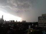 Storm Hits Toronto Ontario Canada