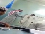 Saudi Educator Painfully Whips The Palms Of Teenage Student