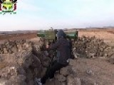 Syria - FSA HB Attacks SAA Tank With ATGM 01 12