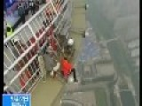 Spiderman Climber Scales World's Tallest Steel Tower