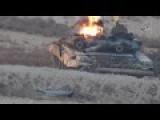 Strange Video Of T-90 Burning