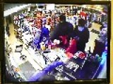 Surveillance Camera Records Gunpoint Robbery In Brossard On 10-4-2014