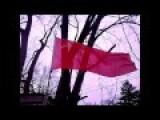 Soviet Flag Still Proudly Flying In Luhansk Peopls Republic Of Novorossiya