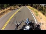 Silverwood Lake - Big Bear Lake Motorcycle Ride With My Boys