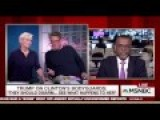 Scarborough Catches Hell For Defending Trump's Assassination Jab At Clinton