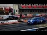 Subaru Impreza WRX STI Vs Lamborghini Aventador, Nissan GTR Drag Race
