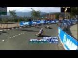 Scary Fall - Anna Van Der Breggen Cyclist Team Race