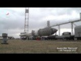Start Of A Proton-M Space Rocket With The Inmarsat-5 F3 Communications Satellite