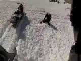 Snowmobiler Buried Under Avalanche He Created