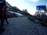 Skateboarders Race Down Norwegian Mountain Pass