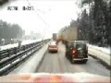 Slipping & Sliding On Russian Icy Roads