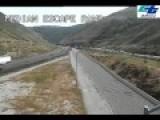 Semi Truck Almost Rolls Using Runaway Ramp