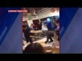 Student Slams Principal To The Ground In Massive Brawl At Florin High School - California