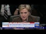 State Dept Access Given To Clinton Foundation Donors 'precisely What She Said She Would Not Do