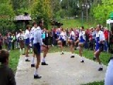 Schuhplattler Traditional Alpine Dance In South Tyrol