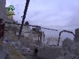 Syria - IF Demolishes SAA Post 01 03