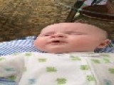 Slo-mo Baby Sneeze