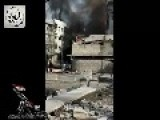 Syrian Sunni Arab Citizens Soldiers Detonate A Bomb Under Assad Regime Occupation Outpost: Al-Maliha March 10th, '14