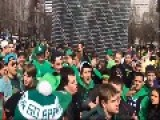 Saint Patricks Day And Fists Are A Flying
