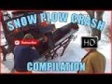Snow Plow Crash And Accident Compilation Video