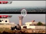SSM Launch And Hit Caught On Camera - Jobar - Syria
