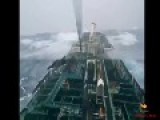 Ships Punching Huge Swell