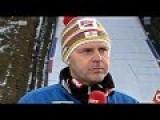 Ski Jump Crash - Thomas Morgenstern - 3 Time Gold Medalist